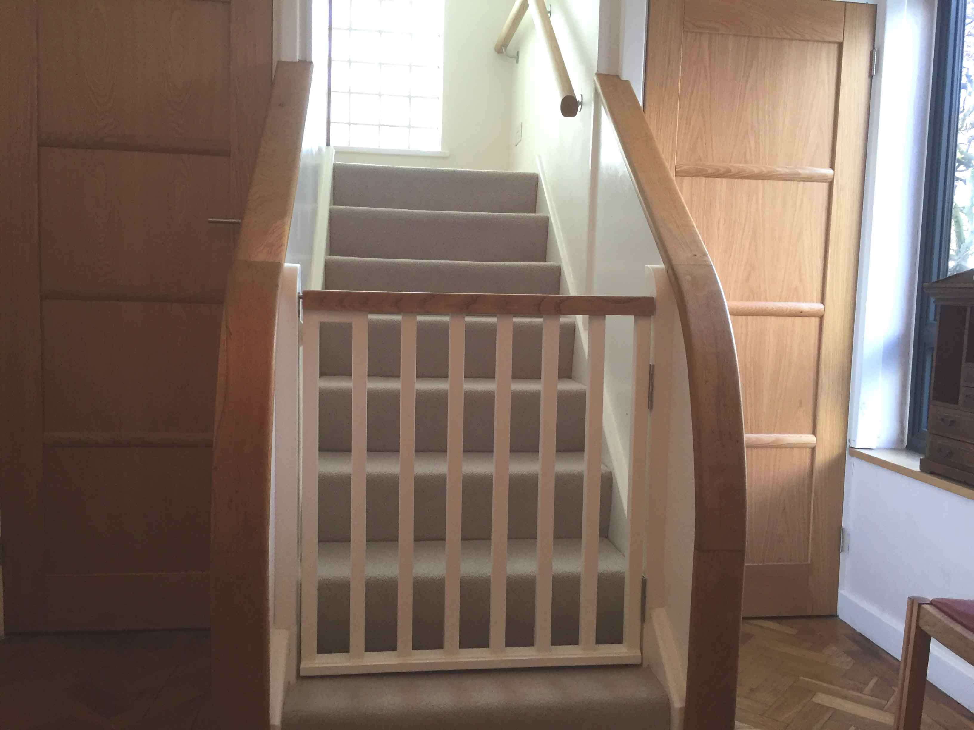 gates for stairs - stair gates – horkesley joinery ltd