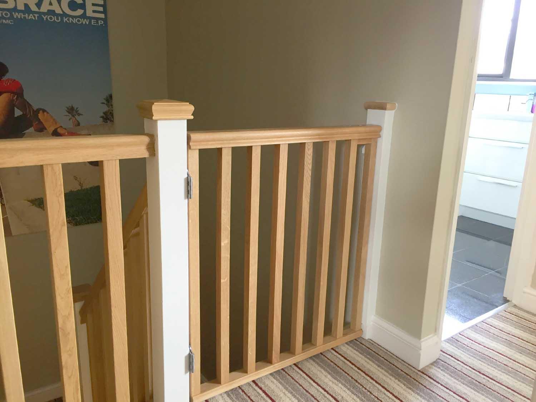 Wooden Stair Gates Ebay